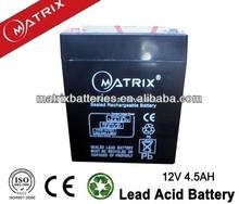 Nife Battery 12V 4.5AH For LED Light