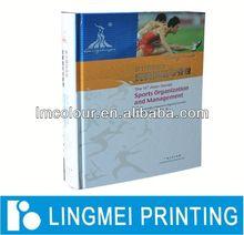 Color perfect bind book print