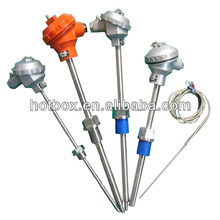 High temperature 1300C K type thermocouple for power station