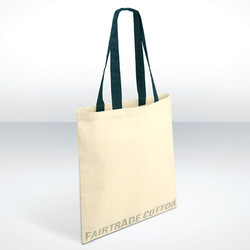 Cheap plain tote canvas bags with handle