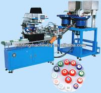 plastic bottle caps pad printing machine