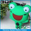 fashion animal shape mini custom frog promotional wedding gift keychain