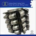 différents types de outils de coupe pour machine à tailler les engrenages