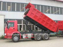 howo 6X4 dump truck-right hand driving