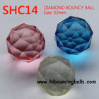 32mm Diamond Rubber Bouncy Balls Wholesale in China