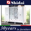 Mdf cabinet salon/vitrines pour le salon/salon meubles d'ébénisterie e-153