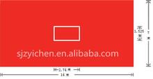 Yichen Non-rebound table tennis court sport flooring/basketball/volleyball/badminton in stock