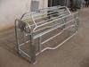 Galvanized pig farrowing crate
