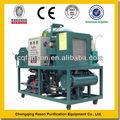Gran capacidad de tratamiento de aceite de cocina máquina de la purificación