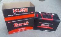 Barox CMF80R 12V80AH maintenance free battery