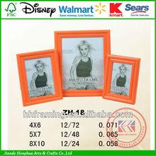 wholesale eco-friendly plastic pvc picture frame