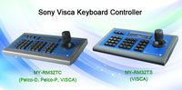 3D RS485 half-duplex, RS422 full-duplex, RS232 serial port cctv camera PTZ Keyboard Controller