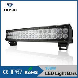 NEW!!! 108W high power off road/ blue led mini light bar,12v led light for trucks,atvs,suv,4x4