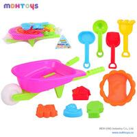 Hot sale plastic mini sand beach toys children,beach sand molds kids toys,magic sand toys