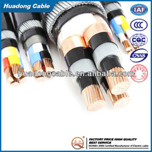 Multi Copper Core XLPE Insulated PVC Jacket External Power Cable