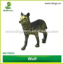 pvc wild animal figures toys wolf