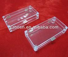 Acrylic clutch bag box, acrylic purse box case, acrylic bag storage box