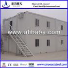 hot sale!!! light steel luxury prefabricated houses/villas free shipment