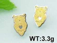 312 24h SALE Kalen Hot Selling Cartoon Gold-Plating Earrings