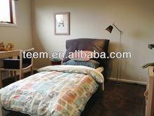 Modern single design bedroom furniture bed king size bed night stand dresser