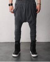 drop crotch fashion sweatpants-100% cotton sweatpants man harem pants