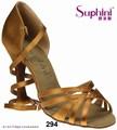 Longo cintas sapatos de mulher, Simples Popular Best seller, Sapatos de dança Suphini