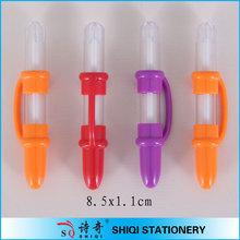 Plastic cute bottle pen for children