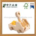 Eco- amigável diy conjunto brinquedos do carro, brinquedo de diy, brinquedo diy de madeira