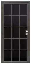 """S_u_p_e_r_i_o_r 3660bz3068 Vanguard Extruded Aluminum Security Door, 36"""" x 8"""
