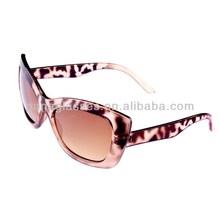 High quality unique fashion zebra pattern simple sunglasses