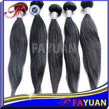 Wholesale 100 percent real human hair natural straight cheap indian hair in dubai
