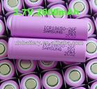 Samsung 18650 Battery 3.7V 2600mAh Cylindrical lithium-ion battery Cell For E-bike lights Flashlight,LED Laptop