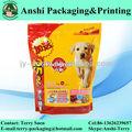 impresos personalizados de plástico de alimentos para mascotas bolsa