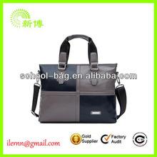 Men's leather briefcase/attache case/business bag