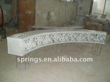 Fiberglass Carved Lighting wedding arches columns