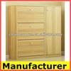 wooden design shoes cabinet,shoe rack drawer cabinet with doors