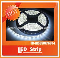 Waterproof IP65 LED Strip Light 5050smd 30leds per Meter 12V 24VDC 36w per Roll CE TUV Rohs Fcc Approved