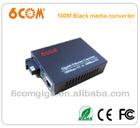 1 fiber and 1 utp ports media converter