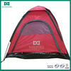 Red waterproof backpacking mountain tent lightweight
