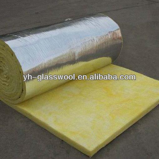 De fibra de vidrio de manta de lana con alum papel para - Papel aislante termico ...