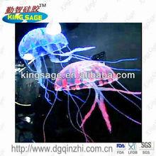 Floating best price jellyfish aquarium, perfect jellyfish aquarium,silicone jellyfish aquarium