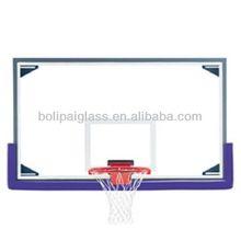 Fixed basketball glass backboard
