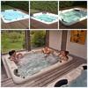 Sunrans fiberglass hot tub shells Balboa hot tub SR832 japan massage hot sex massage hot tub