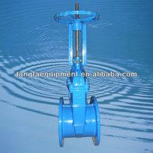 "12"" rising stem resilient seated gate valve ANSI B16.5 class150 FF"