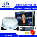 Car receptor de satélite tv internet