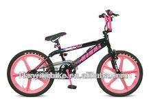 Noir et rose fille bmx, Bmx vélo, Freestyle vélo