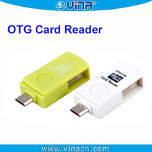 5pin Micro USB OTG card reader Hub for Samsung Galaxy S2 i9100 Android Cellphone