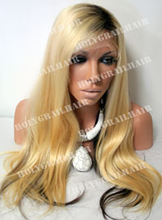 Dark Roots European Russian Virgin Lace Wig