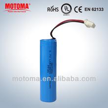 shenzhen rechargeable 3.7v li polymer li ion batteries pack 18650