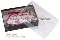 fiber optic small box,plastic pvc packaging box 2014 China 3d box photo frames